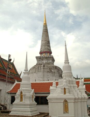 southern of thailand: The old pagoda at Southern, Thailand.