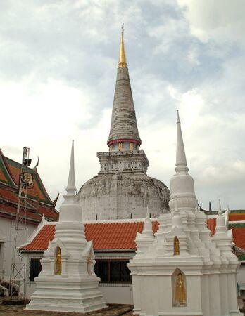 The old pagoda at Southern, Thailand.