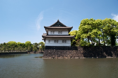 Fortress in the water at Japan.