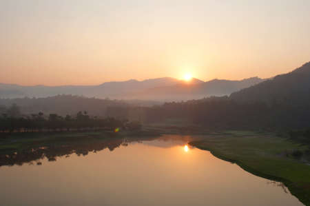 Sunrise Golf Course in northern Thailand. photo