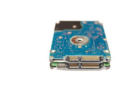 harddisk: Hard-Disk for Notebook on isolate background  Stock Photo