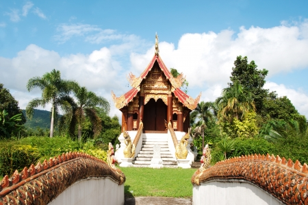 Beautiful temple in Northern, Thailand  Stock Photo