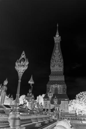 The beautiful pagoda at Northern Thailand.