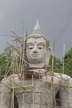 dhamma: new big buddha Stock Photo