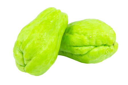 chayote: Chayote isolated on white