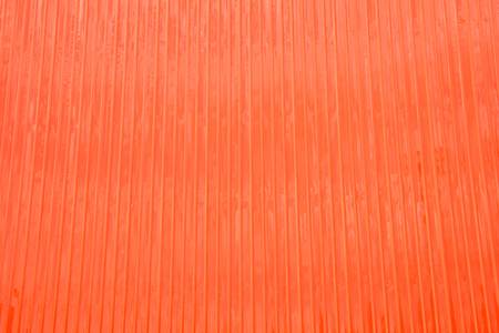 Orange Wall made from Metal sheet Stock Photo - 22562713