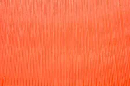 Orange Wall made from Metal sheet Stock Photo - 22562713