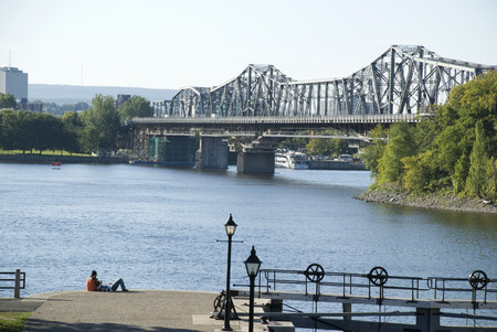 ottawa: Ottawa over river bridge