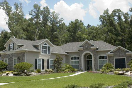 フロリダ州の近代的な家。 写真素材