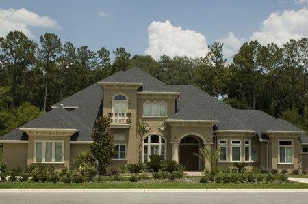 A modern home in Florida.
