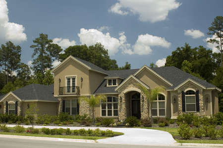 Modern home in Florida.