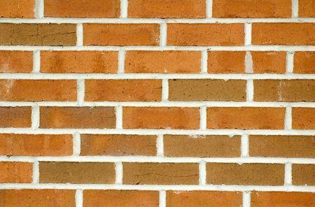A brick wall.