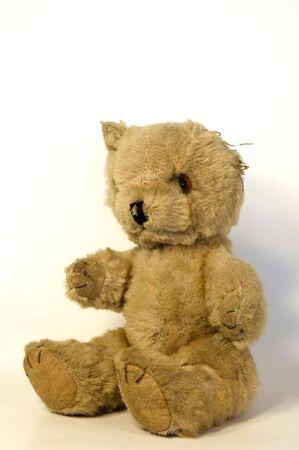 A 100-year-old Teddy Bear.