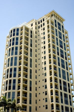 High Rise Condo in St. Petersburg, Florida. Stock Photo