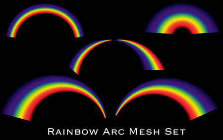 Collection of rainbow arcs.