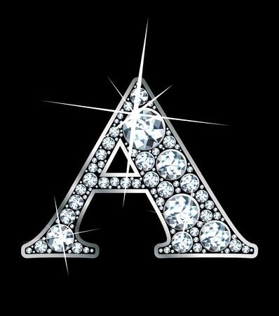a stunning beautiful diamond a Vector
