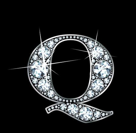 """q: Un diamante incredibilmente bello """"Q"""""""