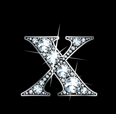 a stunningly beautiful diamond X