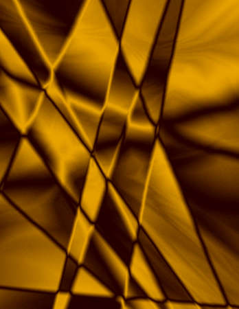 Beautiful gold stained glass effect, great for background