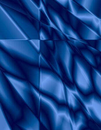 背景のために大きい、美しいブルーのステンド グラスの効果