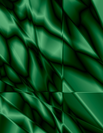 Beautiful emerald green stained glass effect, great for background.