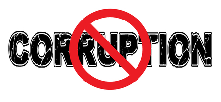 bribery: Ban Corruption, the practice of doing business by illegitimate, immoral, or illegal means.