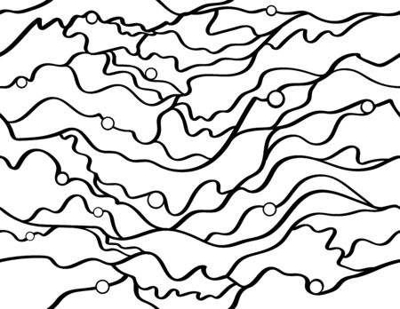 stunning: Stunning seascape themed abstract design, monochrome.