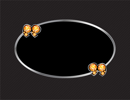 jewel box: Citrine Stone Quotes on Silver Metal Speech Bubble over Pinstripe Background