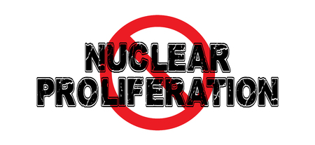 Ban Nuclear Proliferation, the advancement of nuclear bombing capabilities of hostile nations. Illustration