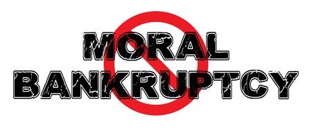 Ban Moral Bankruptcy, wherein a person has lost all moral bearings and will engage in evil acts.