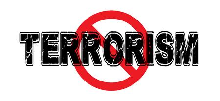 Ban Terrorismo, la práctica de intimidar a las poblaciones con brutales ataques violentos contra inocentes. Foto de archivo - 74354790