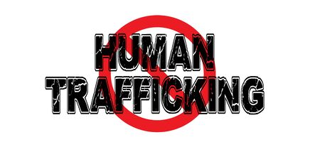 Ban Human Trafficking, the practice of using humans against their will to perform all manner of labor and sexual service. Imagens - 74352257