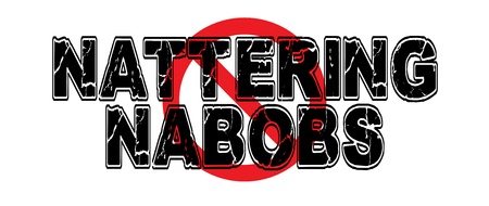 Ban Natternig Nabobs of Negativism, referring to media yet fitting for the chattering classes. 向量圖像