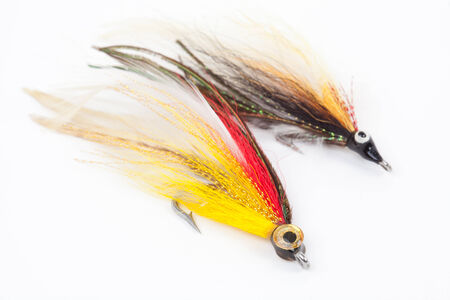 bait for fishing, lure for fishing - Stock Image photo