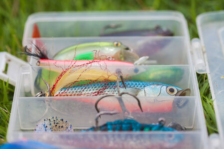 bait for fishing, lure for fishing photo