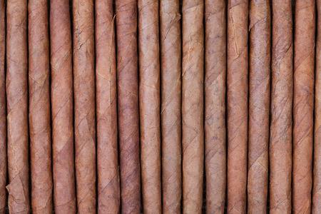 arrange: background from arrange of cigars