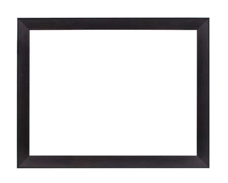 the borderline: Classic frame isolated on white background