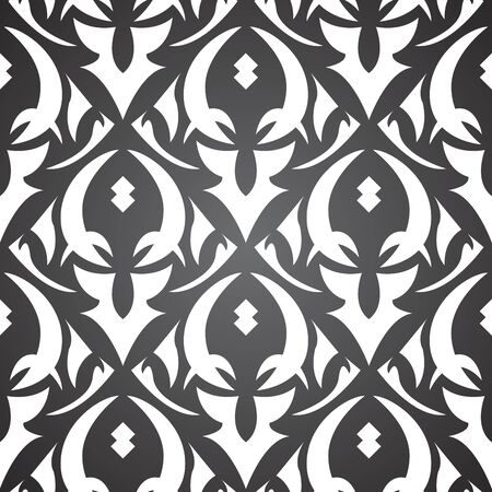 Vektor-asian abstraktes Muster Vektorgrafik