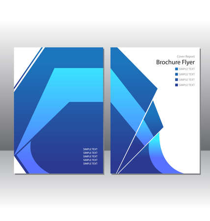 layout: Abstract Layout Template Illustration