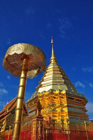 doi: Phra That Doi Suthep Chiangmai in Tailandia