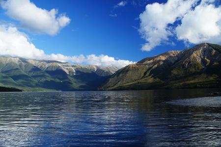 new scenery: Nelson Lake in New Zealand