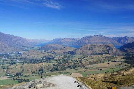 coronet: Coronet Peak New Zealand       Stock Photo