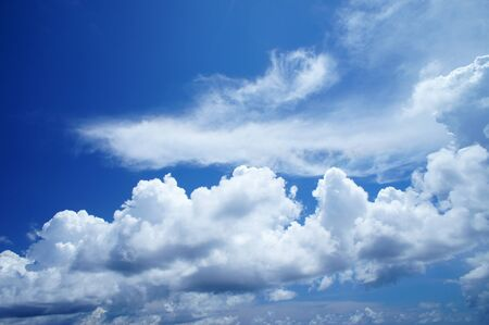 clean air: Blue Sky and Nice Clouds