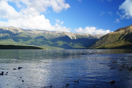 nelson: Nelson Lake - New Zealand
