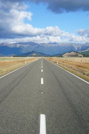Country Road - Newzealand photo