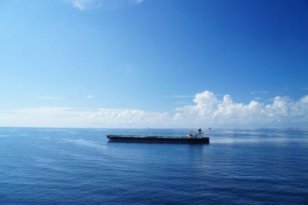 Offshore Tanker on Sunny Day