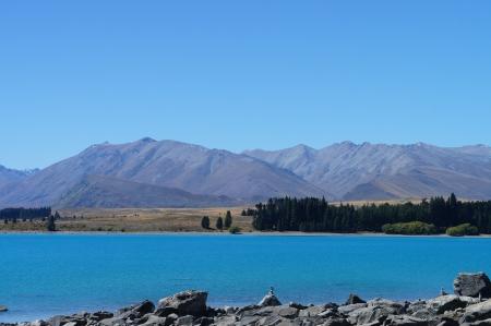 Beautiful Lake Tekapo Newzealand Stock Photo - 14851977