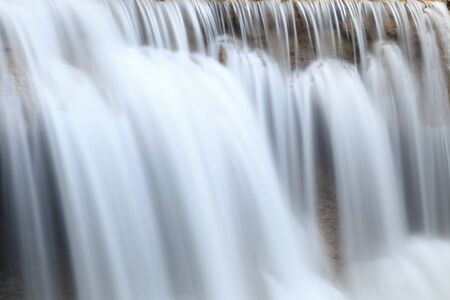 torrent: Close up waterfall in Thailand