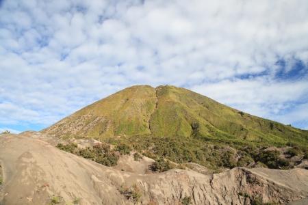 tengger: Mountain Batok in Tengger Semeru National Park, East Java, Indonesia