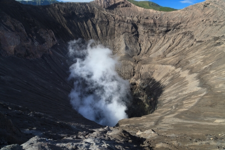 craters: Creater of Bromo vocalno, East Java, Indonesia